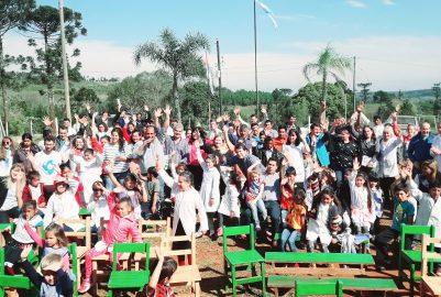 SAN PEDRO: ESCUELAS RURALES RECIBIERON PURIFICADORES DE AGUA