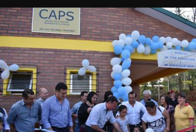 SAN PEDRO: SE INAUGURÓ HOY EL CAPS EN BELLO HORIZONTE