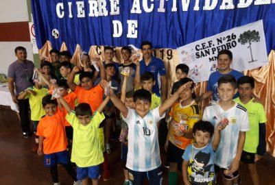 SAN PEDRO: APOSTANDO A LA INCLUSIÓN EL CEF N°26 CERRÓ EL CICLO LECTIVO 2019
