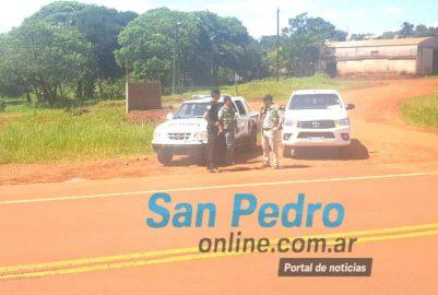 SAN PEDRO: DEBIDO A LOS SUCESIVOS ROBOS DE HOJA VERDE EL INYM COORDINA CONTROLES CON LA POLICÍA