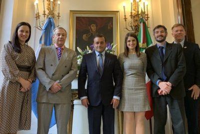 HERRERA AHUAD INICIÓ INTENSA GIRA EUROPEA Y CERRÓ ACUERDOS AMBIENTALES EN ITALIA