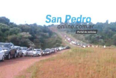 SAN PEDRO: 35 MIL PERSONAS PASARON MIGRACIONES POR PASO ROSALES