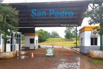 SAN PEDRO: PASO ROSALES CERRADO POR EMERGENCIA SANITARIA