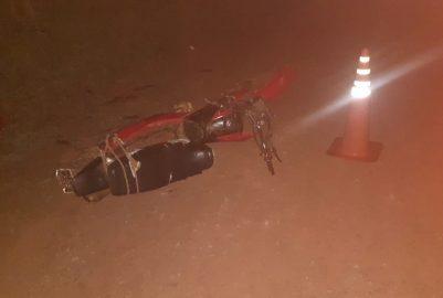 SAN PEDRO: LA POLICÍA DIO A CONOCER EL PARTE SOBRE EL CHOQUE FRONTAL ENTRE MOTOS EN SAN JORGE