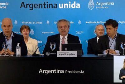 El PRESIDENTE ALBERTO F. ANUNCIÓ CUARENTENA HASTA EL 24 DE MAYO CON ALGUNAS APERTURAS