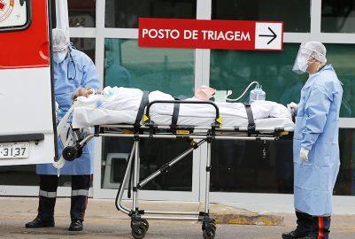 BRASIL LLEGA A 41.828 MUERTOS Y ES SEGUNDO PAÍS CON MÁS VÍCTIMAS DE COVID-19