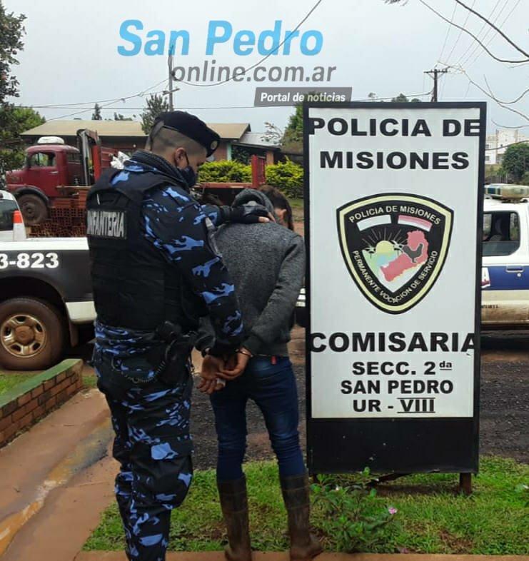TERCIADOS PARAÍSO: DETUVIERON A «SAPO» QUIEN TENÍA PEDIDO DE CAPTURA POR HURTO