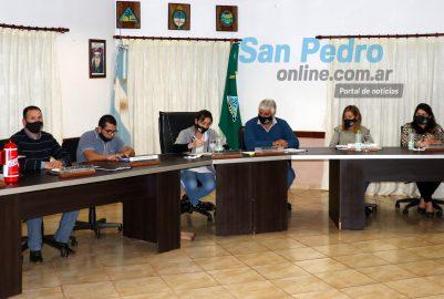 SAN PEDRO: EL HCD REALIZÓ UNA SESIÓN SECRETA  PARA TRATAR EL TEMA TORRES