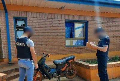 SAN PEDRO: DETUVIERON A DOS DELINCUENTES Y RECUPERARON OBJETOS ROBADOS