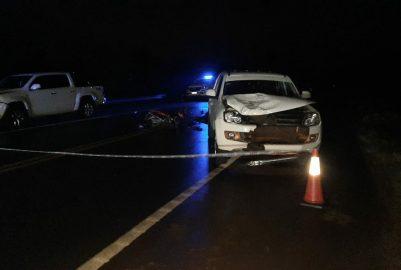 TERCIADOS PARAÍSO: MOTOCICLISTA PIERDE LA VIDA EN ACCIDENTE DE TRÁNSITO