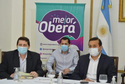 EL GOBERNADOR ACOMPAÑÓ EL LANZAMIENTO DE «MEJOR OBERÁ»