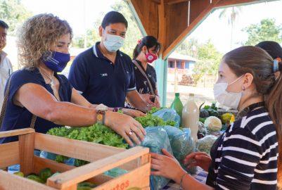 FRACRÁN: IFAI Y AGRICULTURA FAMILIAR ENTREGARON EQUIPAMIENTOS A FERIANTES