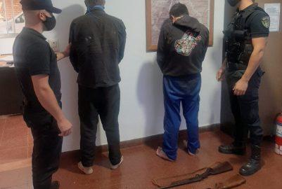 SAN PEDRO: CAZADORES FURTIVOS DETENIDOS