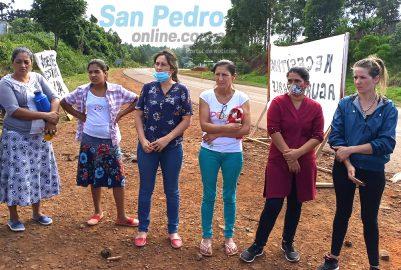 SAN PEDRO: SE LEVANTA EL CORTE DE RUTA Y SE HARÁ UNA REUNIÓN PARA RESOLVER LA PROBLEMÁTICA